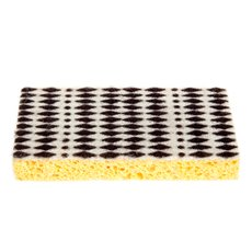 Kitchen Sponge Mini Diamond Black