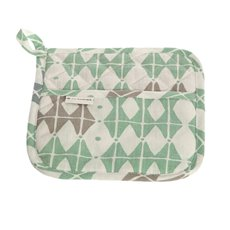 Potholder Square 50 Frosty Green