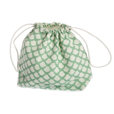 Iris Hantverk Toiletry Bag Sara's Roof Frosty Green