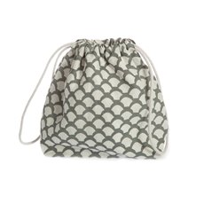 Toiletry Bag Sara's Roof Neutral Grey