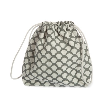 Iris Hantverk Toiletry Bag Sara's Roof Neutral Grey