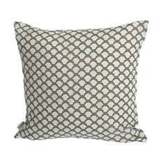 Iris Hantverk Cushion Cover Sara's Roof Neutral Grey