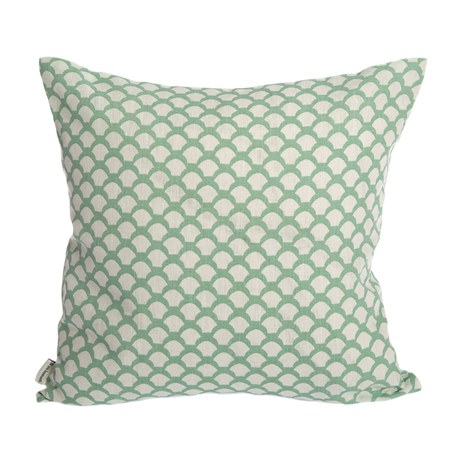 Cushion Cover Sara's Roof Frosty Green