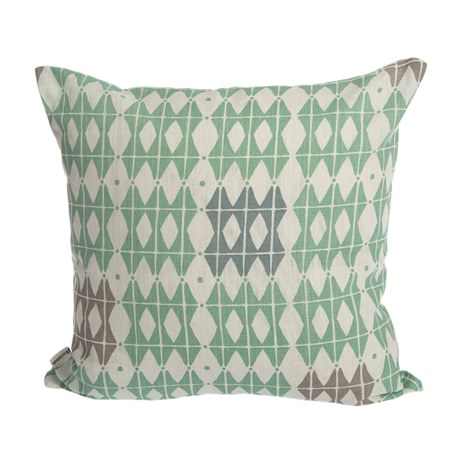 Iris Hantverk Cushion Cover Square 50 Frosty Green
