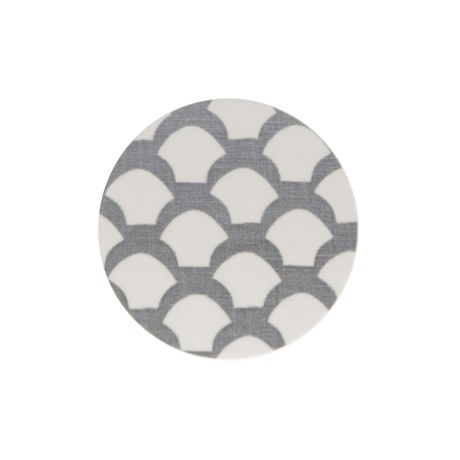 Iris Hantverk Coaster Saras Roof Neutral Grey