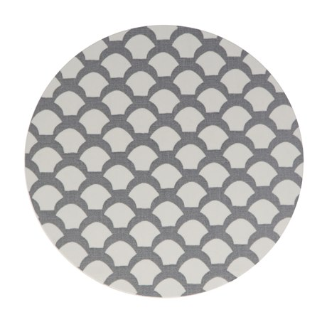 Trivet Saras Roof Neutral Grey