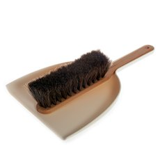 Iris Hantverk Dustpan & Brush Set White