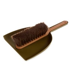 Dustpan & Brush Set Green
