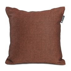 Demi Cushion Brickred/Black